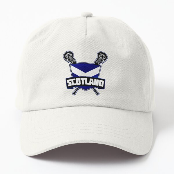 Scotland Lacrosse Flag Logo, Scottish LAX Dad Hat