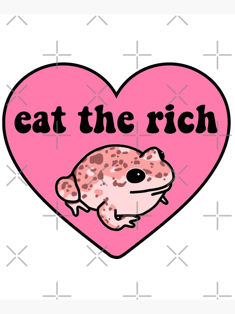 Eat The Rich Frog by melouker