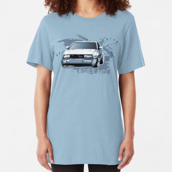 V-Dub Sports Car T-Shirt Slim Fit T-Shirt