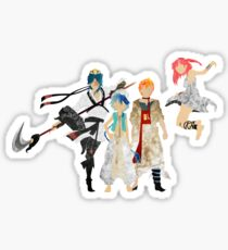 The Protagonists - Magi Sticker