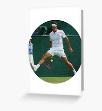 Federer Spounged Greeting Card