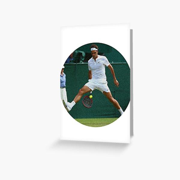 Federer Spounged Carte de vœux