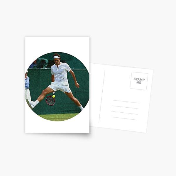 Federer Spounged Postcard