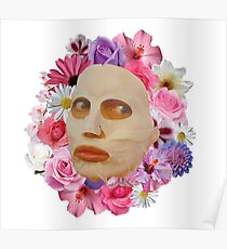 Alyssa Edwards Beauty Mask With Flowers - Rupaul's Drag Race All Stars 2  Poster