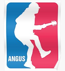 Angus Young Sport Logo Poster