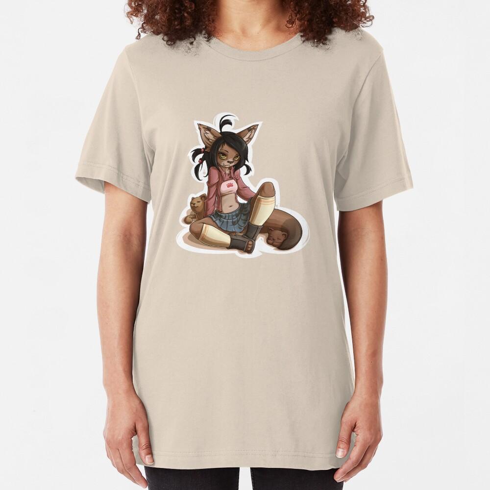 Pretty Cute 1 Slim Fit T-Shirt