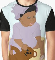 Toddler and Teddy Graphic T-Shirt