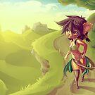 Forest Girl by Sven Ebert