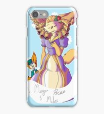 Mayor Rose and Miles! iPhone Case/Skin