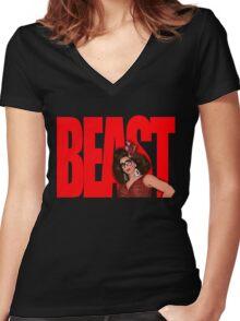 "Alyssa Edwards ""BEAST"" Women's Fitted V-Neck T-Shirt"