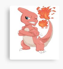Pokemon-Charmeleon Canvas Print