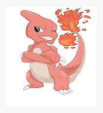 Pokemon-Charmeleon Photographic Print