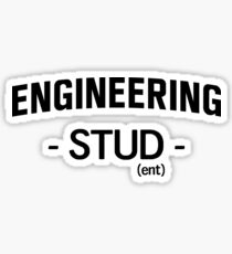 Engineering Stud(ent) Sticker