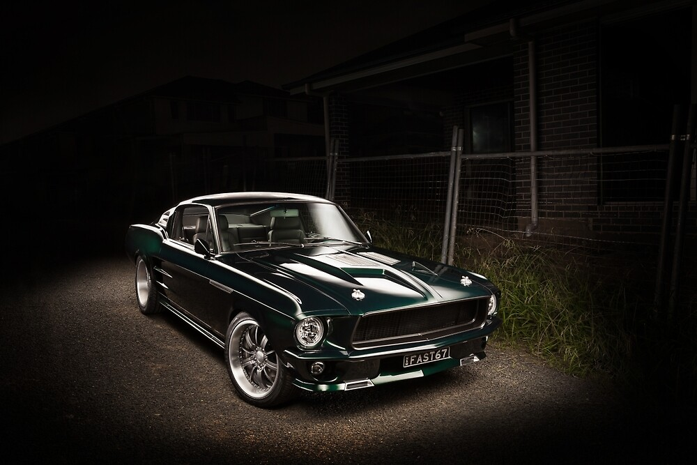 Andrew's 1967 Ford Mustang Fastback by HoskingInd