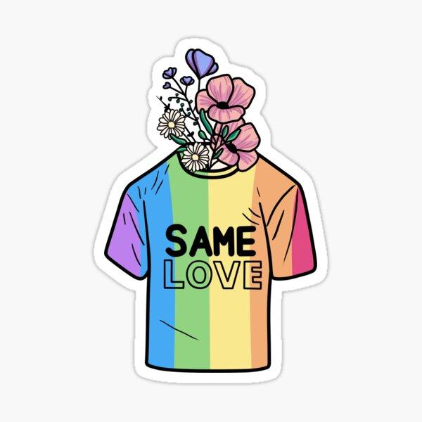 sebs Regenbogen-T-Shirt Sticker