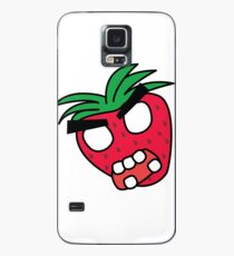 angry zombie strawberry Case/Skin for Samsung Galaxy