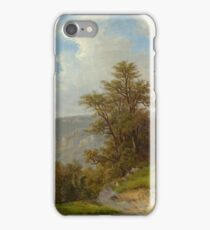 DIDAY, FRANCOIS () Landscape near Meiringen. iPhone Case/Skin