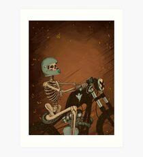 Spook Night Rider Art Print