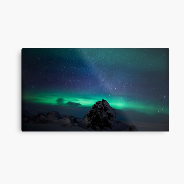 Northern Lights/Aurora Metal Print