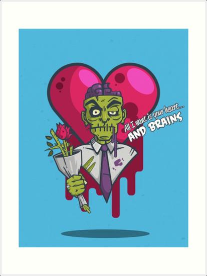 Zombie Valentine by Mike Harris
