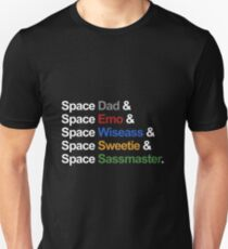 Voltron - Paladins IN SPACE! (For Dark Backgrounds) Unisex T-Shirt
