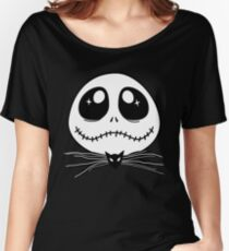 The Nightmare Before Christmas - Cute Jack Skellington Women's Relaxed Fit T-Shirt