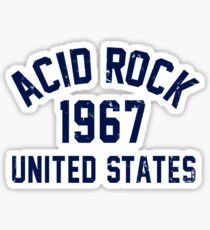 Acid Rock Sticker