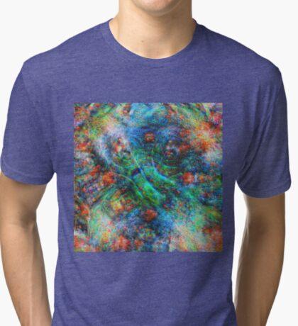 Mermaid #DeepDream Tri-blend T-Shirt
