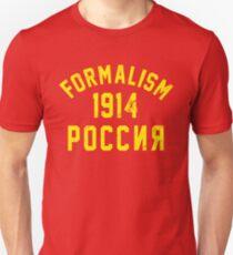 Formalism Unisex T-Shirt