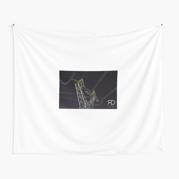 Stars and Wires Tapestry
