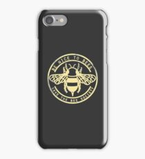 Save The Bee Society iPhone Case/Skin