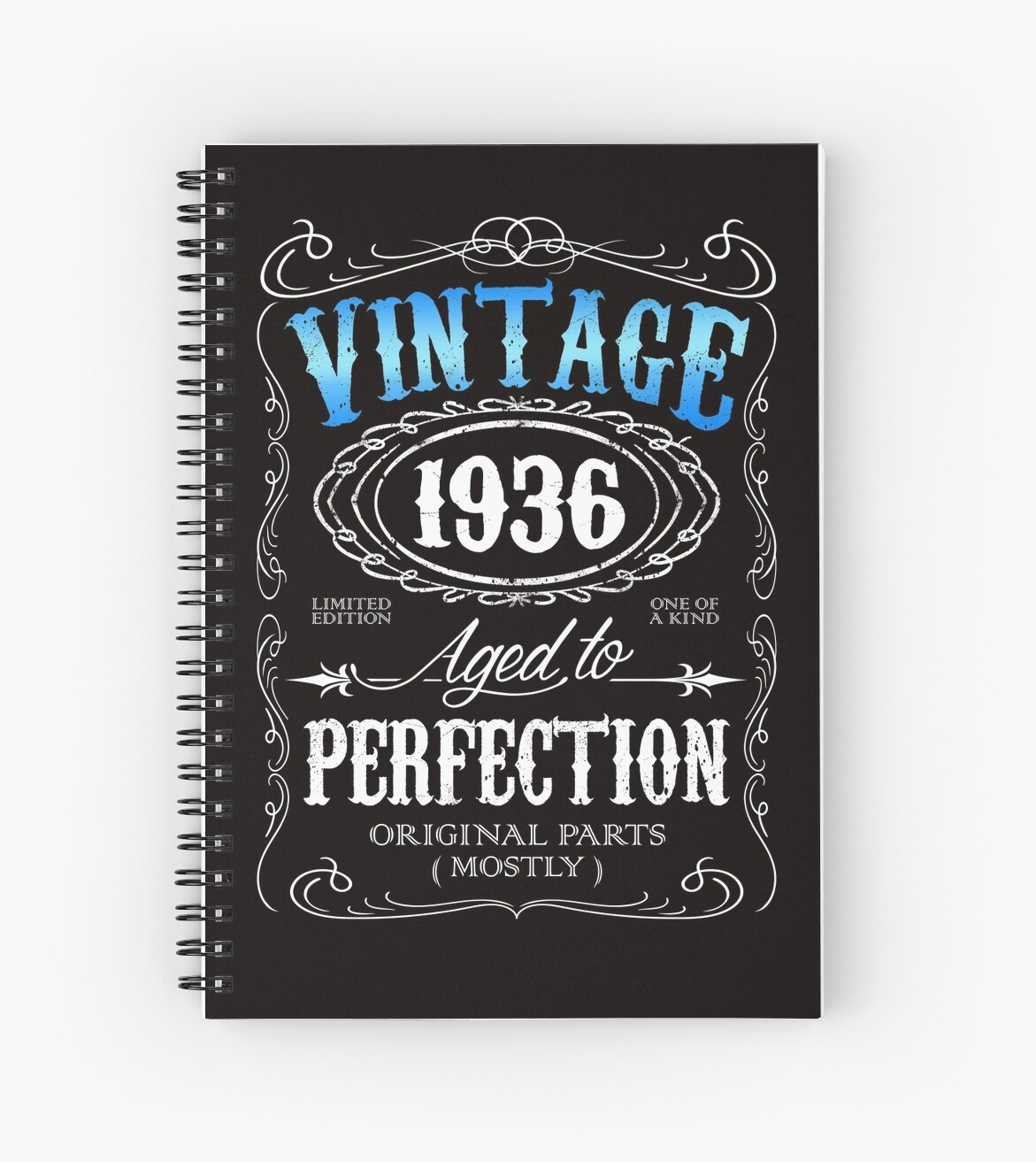 80th Birthday Gift For Men Vintage 1936 Aged To Perfection 80