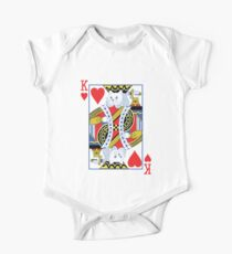 Kitty King of Hearts Kids Clothes
