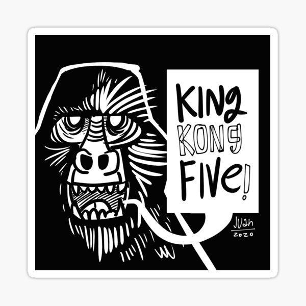 King Kong Five! Pegatina