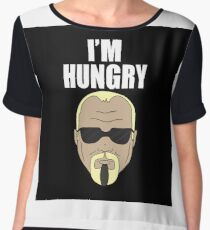 Steinerism #185- I'm Hungry Women's Chiffon Top