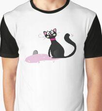 Black kitten. Vector Illustration Graphic T-Shirt