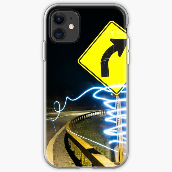 Painted road sign - 2 iPhone Soft Case