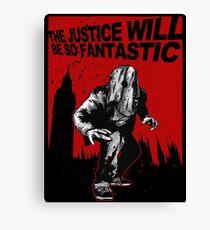Fantastic Justice Canvas Print