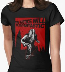 Fantastic Justice Women's Fitted T-Shirt