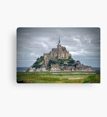 Mont Saint Michel, Normandy - France Canvas Print