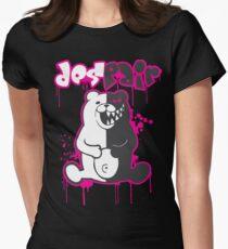 Danganronpa: Monokuma - Despair (Pink) Women's Fitted T-Shirt