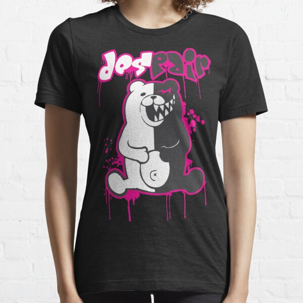 Danganronpa: Monokuma - Despair (Pink) Essential T-Shirt