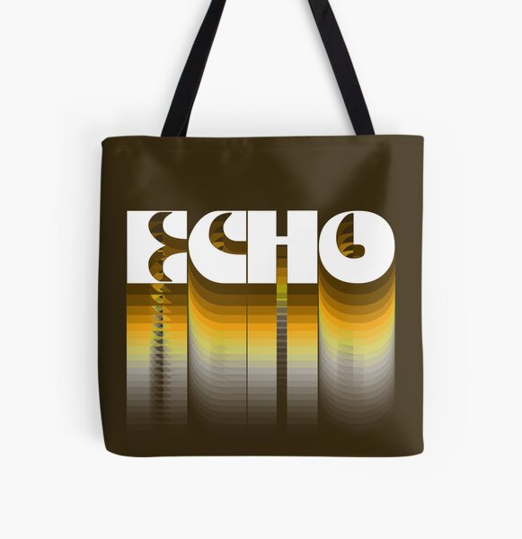 Echo All Over Print Tote Bag