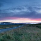 Sunset near Thingvellir by kernuak