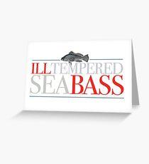 Austin Powers - Ill-tempered Sea Bass Greeting Card