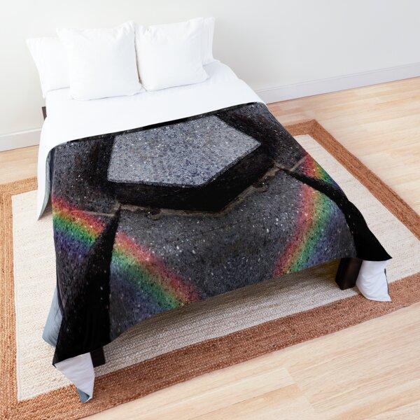 Ray of rainbow Comforter