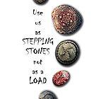 STEPPING STONES by Colette van der Wal