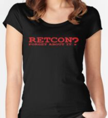 RETCON? Women's Fitted Scoop T-Shirt