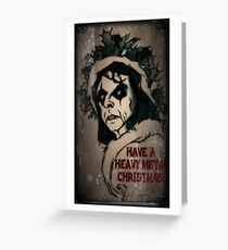 Have a Heavy Metal Christmas Greeting Card