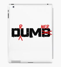 Drummer Dumb Funny Cool Shirt For Drummers iPad Case/Skin